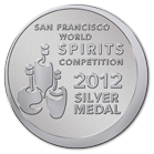 San Francisco World Spirit competition - 2011 Silver Medal